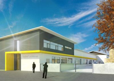 Neubau Bauhof Lichtenau