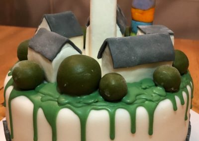 Architekturmodellbau im Tortenkurs