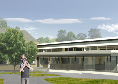 Konzeptstudie Erweiterung Kindertagesstätte in Mohorn