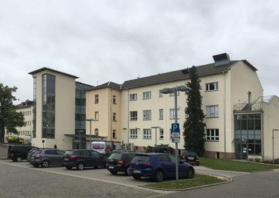 Umbau des ehemaligen Krankenhauses Rochlitz