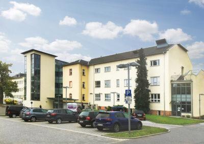 Umbau Krankenhaus Rochlitz zum Gesundheits- & Pflegezentrum Rochlitz