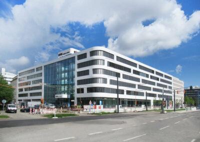 Neubau zentrale Verwaltung eins energie Sachsen